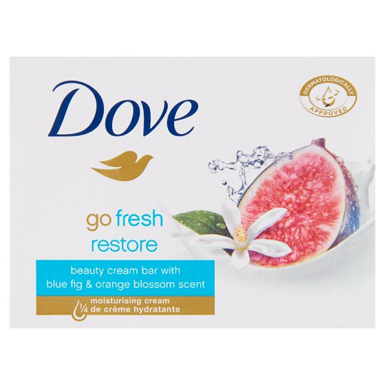 Dove Go Fresh restore krémszappan kék füge és narancsvirág illattal 100 g