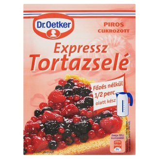 Dr. Oetker Red Express Gelatine Cake Covering 50 g