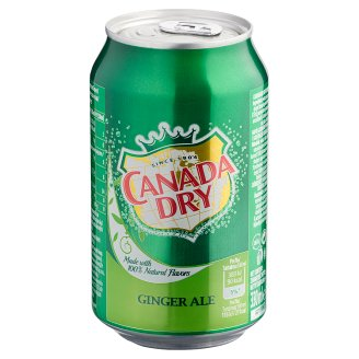 Canada Dry Low-Energy Ginger Flavoured Carbonated Drink 330 ml