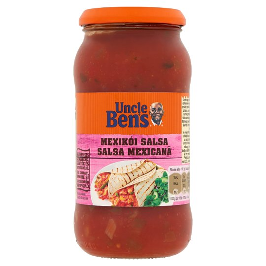 Uncle Ben's Mexican Salsa Hot Mexican Type Tomato Sauce 450 g