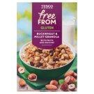 Tesco Free From gluténmentes müzli gabonafélékkel kókusszal, mogyoróval, mandulával 340 g
