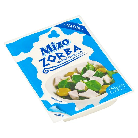 Mizo Zorba Fat, Soft, Unflavoured Creamy White Cheese 250 g