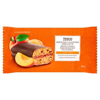Tesco Honey Gingerbread with Apricot Filling 60 g