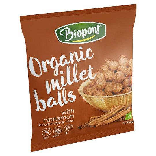 Biopont Organic Millet Balls with Cinnamon 60 g