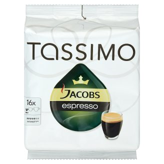 Tassimo T-disc Espresso 16 pcs 118,4 g