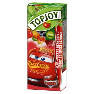 Topjoy Apple-Chokeberry-Sour Cherry and Strawberry Drink 200 ml