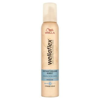 Wella Wellaflex Instant Volume Boost Strong Hold Mousse 200 ml
