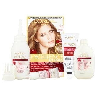 image 2 of L'Oréal Paris Excellence Creme 7.3 Golden Blonde Permanent Hair Colorant