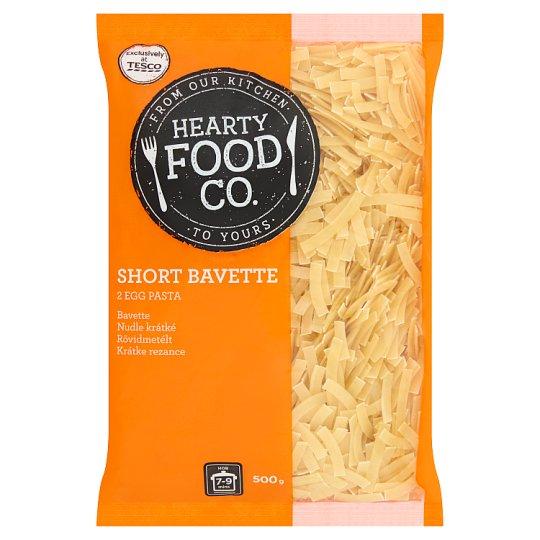 Hearty Food Co. Short Bavette 2 Egg Pasta 500 g