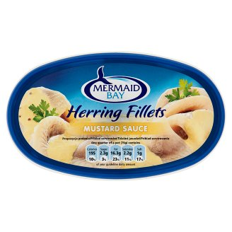 Mermaid Bay Herring Fillets in Mustard Sauce with Sugar and Sweeteners 300 g