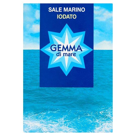 Gemma Di Mare Iodized Fine Sea Salt 1000 g