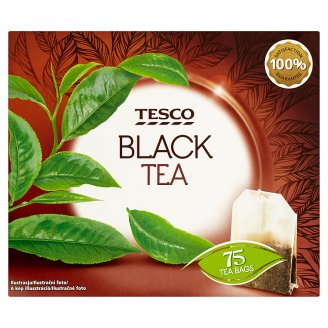Tesco Filtered Black Tea Mix 75 Tea Bags 150 g