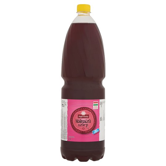 Jégkristály Raspberry Flavoured Syrup with Sugar and Sweeteners 2 l
