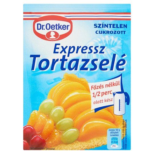 Dr. Oetker Expressz Tortazselé színtelen, cukrozott 50 g