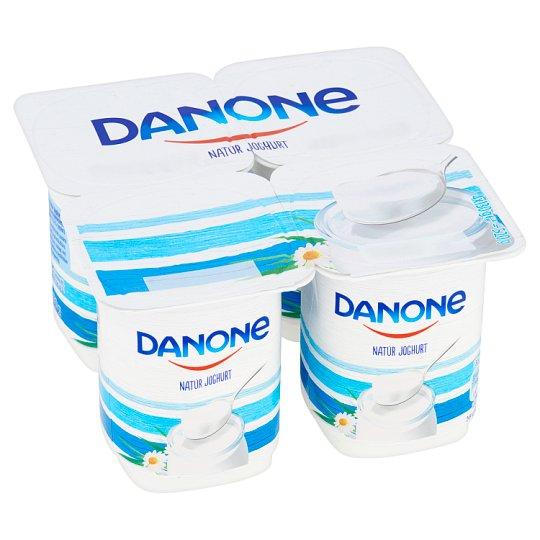 Danone Unflavoured Yoghurt 4 x 130 g