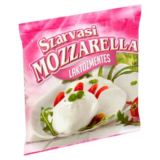 Szarvasi laktózmentes mozzarella sajt 175 g