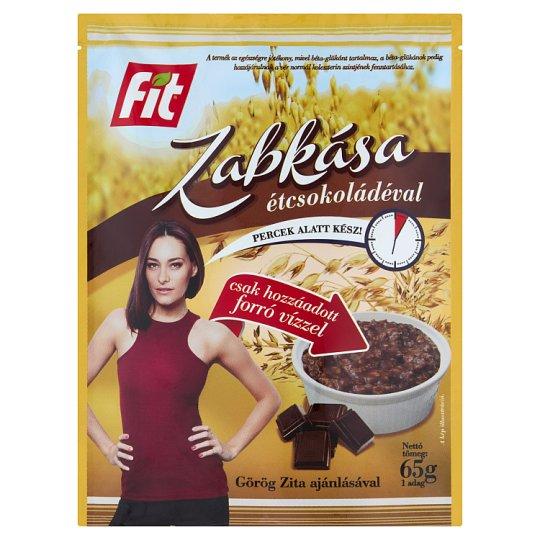 Fit Reggeli Porridge with Dark Chocolate 65 g