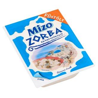 Mizo Zorba zsíros, lágy, füstölt krémfehérsajt 250 g