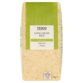 Tesco Parboiled Long Grain Rice 1 kg