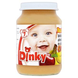 Dinky Gluten- and Dairy-Free Banana-Apple-Peach Dessert for Babies 7+ Months 190 g