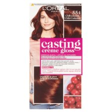 image 1 of L'Oréal Paris Casting Crème Gloss 554 Chili Chocolate Care Hair Colorant