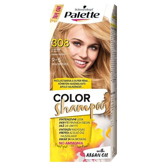 Schwarzkopf Palette Color Shampoo Hair Colorant 9-5 Golden Blond (308)