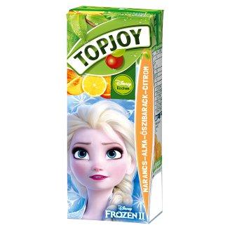 Topjoy narancs-alma-őszibarack-citrom ital 200 ml