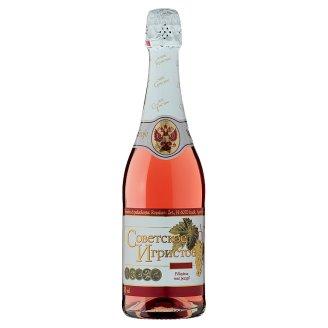 Szovjetszkoje Igrisztoje félszáraz minőségi rosé pezsgő 11,5% 750 ml