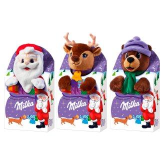 Milka alpesi tejcsokoládé, töltött alpesi tejcsokoládé és alpesi tejcsokoládé drazsé válogatás