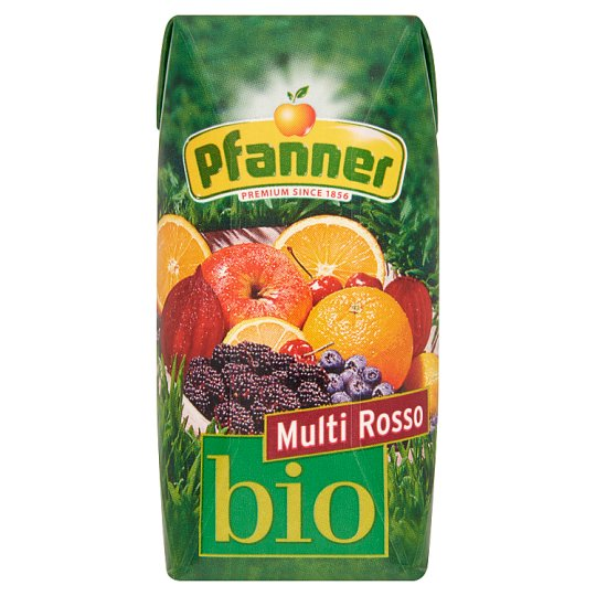 Pfanner Multi Rosso Organic Mixed Fruit Juice 30% 0,2 l
