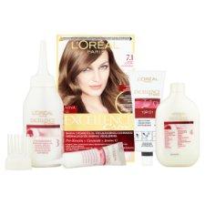 image 2 of L'Oréal Paris Excellence Creme 7.1 Ash Blonde Permanent Hair Colorant