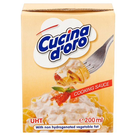 Cucina d'oro UHT Cooking Sauce 200 ml