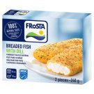 FRoSTA Quick-Frozen Pre-Fried Breaded Fish with Dill 2 pcs 240 g