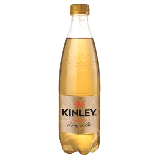 Kinley Ginger Ale Ginger Flavoured Carbonated Soft Drink 500 ml