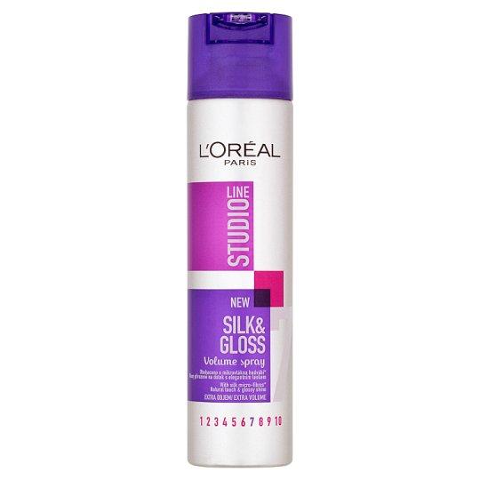 L'Oréal Paris Studio Line Silk & Gloss hajdúsító spray 250 ml
