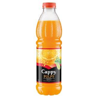 Cappy Pulpy Non-Carbonated Orange Drink with Orange Flesh 1 l
