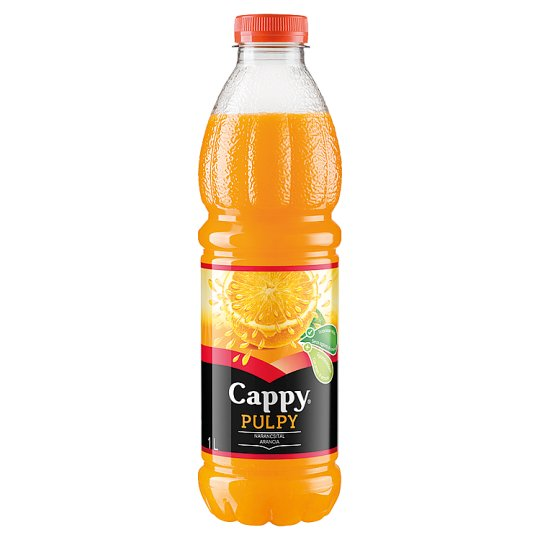 Cappy Pulpy Non-Carbonated Orange Drink with Orange Flesh 1 l