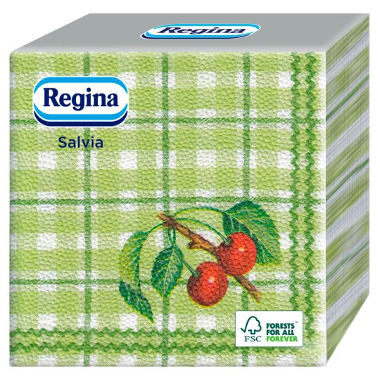 Regina Salvia Napkins 1 Ply 33 x 33 cm 45 pcs