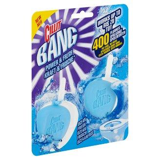Cillit Bang Power & Fresh Óceán Frissesség tok nélküli WC blokk 2 x 40 g