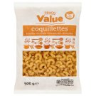 Tesco Value Horn Dried Pasta without Egg 500 g