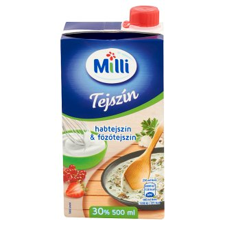 Milli UHT Whipping & Cooking Cream 30% 500 ml