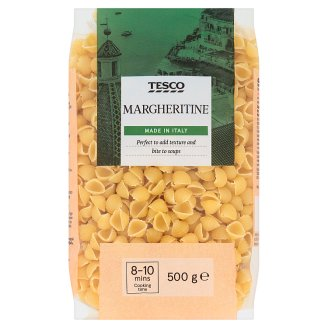 Tesco Margheritine Shell Durum Wheat Semolina Dried Pasta 500 g