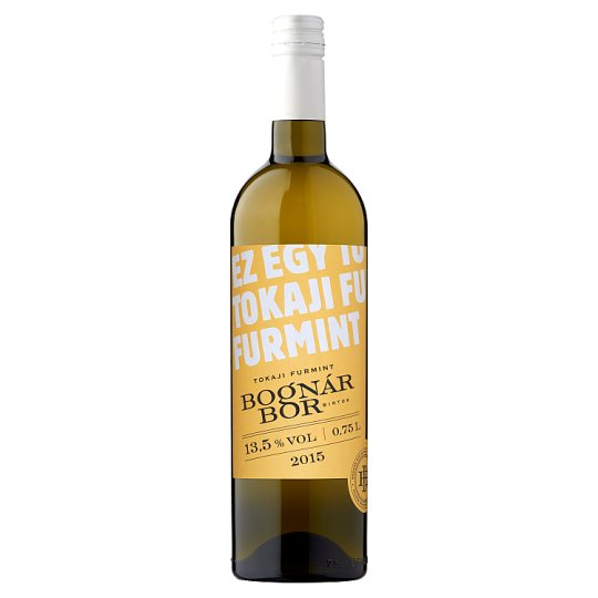 Bognár BorBirtok Tokaji Furmint Dry White Wine 13,5% 0,75 l