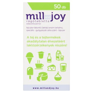 Mill and Joy Gum Tablets with Sweetener 50 pcs 12,5 g
