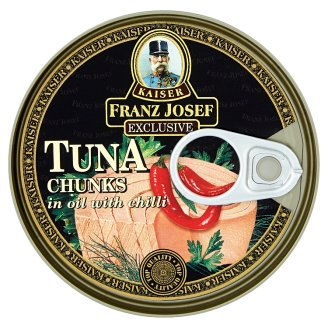 Kaiser Franz Josef Exclusive Tuna Chunks in Oil with Chilli 170 g