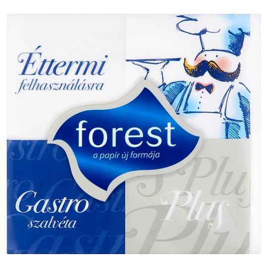 Forest Gastro Plus szalvéta éttermi felhasználásra 18 x 18 cm 600 db
