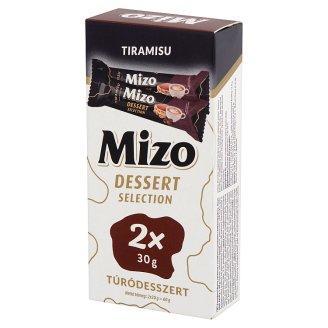 Mizo Dessert Selection Tiramisu túródesszert 2 x 30 g