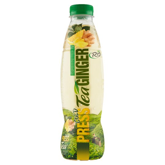 RIO FRESH Non-Carbonated Ginger Green Tea Drink with Sugar and Sweetener 750 ml