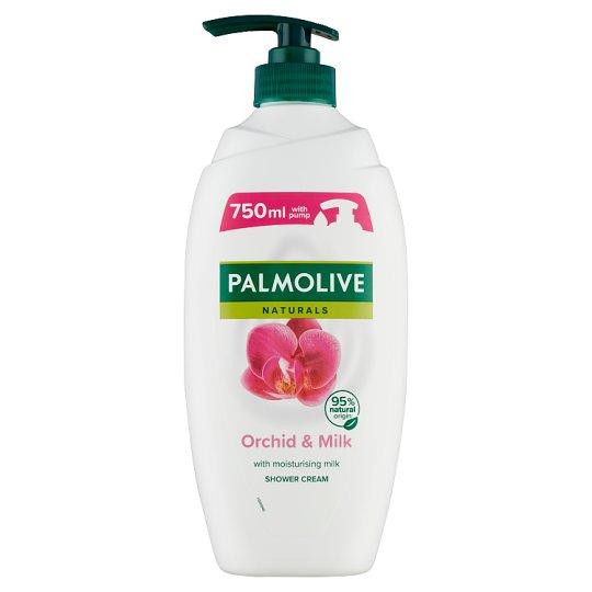 Palmolive Naturals Exotic Orchid tusfürdő orchidea kivonattal és hidratáló tejjel 750 ml