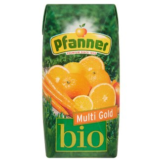 Pfanner Multi Gold Organic Mixed Fruit Drink 30% 0,2 l